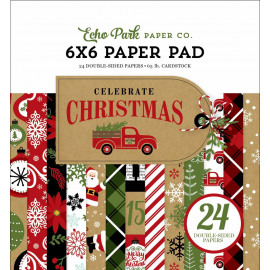 CHRISTMAS CELEBRATE  6 X 6 PAPERPAD