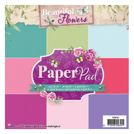 Beautiful Flowers Paperpad 34