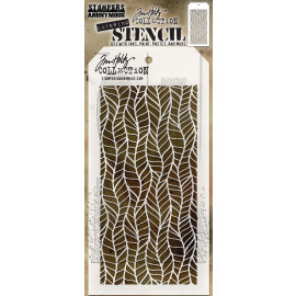 Tim Holtz collection - Layering Stencil - Feather