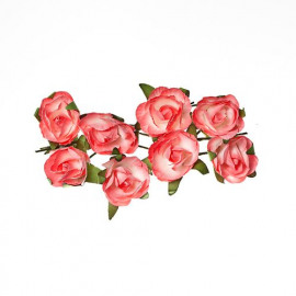 Paper flowers Rose pink