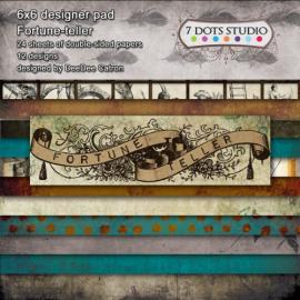 7 Dots Studio - Fortune-teller - 6x6 pad