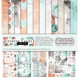 7 Dots Studio - Cotton Candy Dreams - Collection Kit