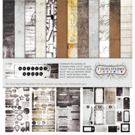 7 Dots Studio - Writer's Block - Collection Kit