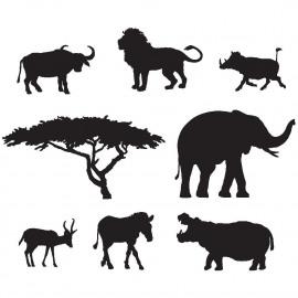 Wee Africa stamp set 2