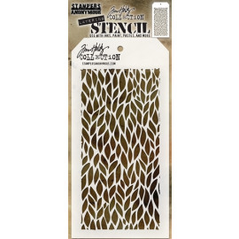 Tim Holtz collection - Layering Stencil - Leafy