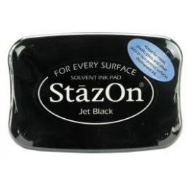 StazOn Jet Black Solvent Ink Pad