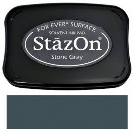 StazOn Stone Gray Solvent Ink Pad