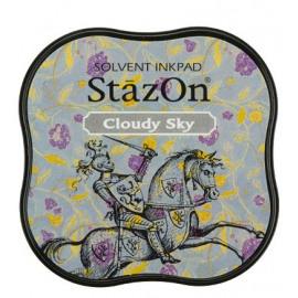 StazOn Cloudy Sky Midi Solvent Ink Pad