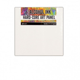 Tim Holtz alcohol ink hard-core art panel  3ST