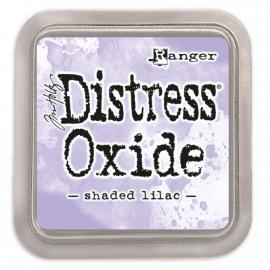 Tim Holtz distress oxide shaded lilac