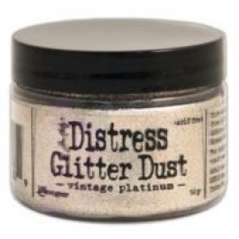 Distress Glitter Dust Vintage Platium