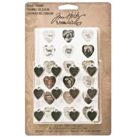 Tim Holtz Idea-Ology  Heart Charms
