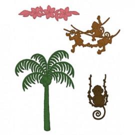 PALM TREE & MONKEYS DIE