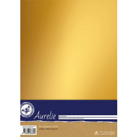 Mirror, Mirror On The Wall Cardstock Gold