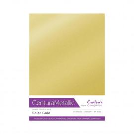 Centura Metallic enkelzijdig a 10 Vel - Zonne Goud