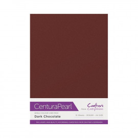 Centura Pearl enkelzijdig a 10 Vel - Donkere Chocolade