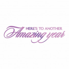 Couture Creations Hot Foil Stamp Amazing Year