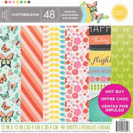 Flutterbloom paper pad