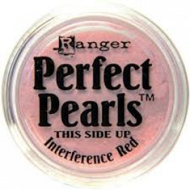 Perfect pearls interference red