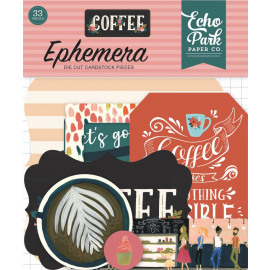 Echo Park Coffee Ephemera 33 pc