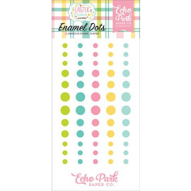 Echo Park Easter Wishes Enamel Dots
