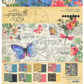 Graphic 45 Flutter 8x8 Inch Paper Pad