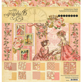 Graphic 45 Princess 12x12 Inch Collection Pack