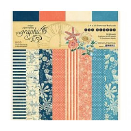 Sun Kissed 12x12 Inch Patterns & Solids Paper Pad