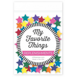 Replenishments  star confetti mix