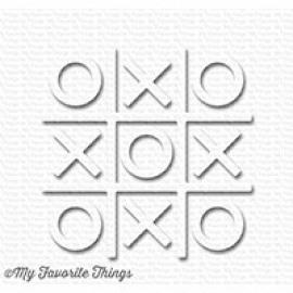 My Favorite Things Tic Tac Toe - White