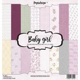 Papirdesign Baby Girl 12x12