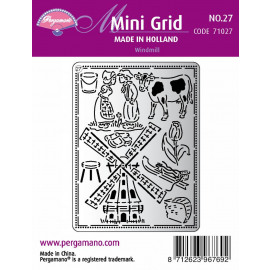 Mini Grid Made in Holland Windmill 27