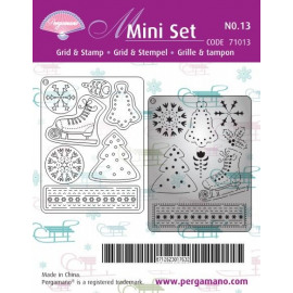 Grid & Stamp Mini Set 13