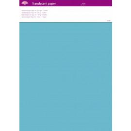 Translucent paper Aqua