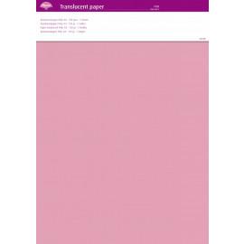 Translucent paper Pink