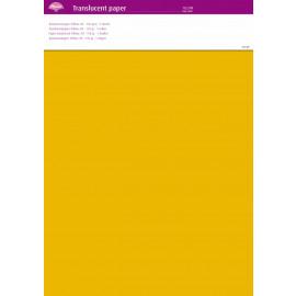Translucent paper Yellow