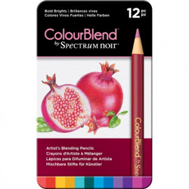 COLOURBLEND - BOLD BRIGHTS -12PC