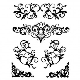 Stamperia Thick Stencil Decorations