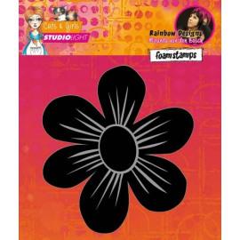 Laser Foam Stamps Mixed Media Rainbow Designs nr.02