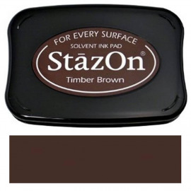 StazOn Timber Brown Solvent Ink Pad