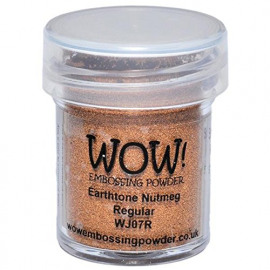 WOW Embossing powder - Earth tone Nutmeg - Regular