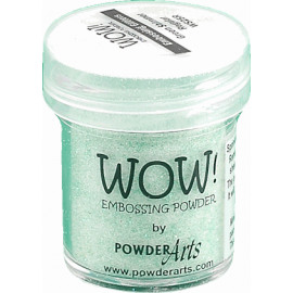 WOW Embossing glitter - Green shimmer - Regular