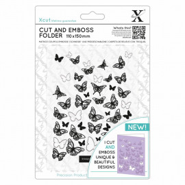 BUTTERFLIES - CUT & EMBOSS FOLDER 110 X 150MM