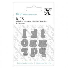 Mini Dies (9pcs) - Serif Alpha 2
