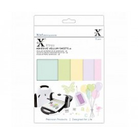 A5 Adhesive vellum sheets Coloured