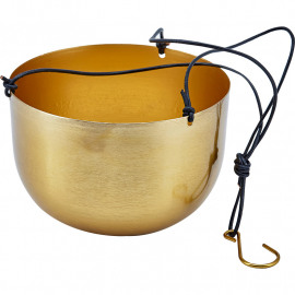 Hanging pot brass