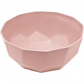 Bowl Cubic roze