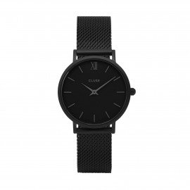 Minuit mesh / Full Black