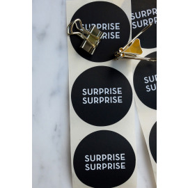 Set stickers - surprise surprise