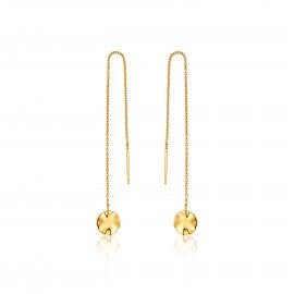 Ania Haie Ripple threader earrings